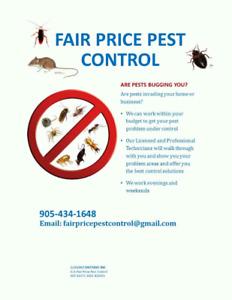 Having Pest issues ?