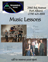 $20  Music Lessons-Triangle Music 778-421-3333