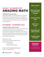 Math Smart summer camp(26 July-04 August and 07 August-14 August