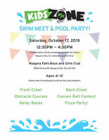 Boys and Girls Club of Niagara SWIM MEET