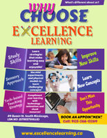 EXCELLENCE LEARNING Tutoring Services