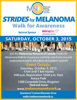 Wanted: Volunteers for Strides for Melanoma Walk for Awareness