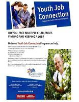 Youth Job Connection Program @ NCCE