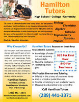 EXPERIENCED MATH and SCIENCE TUTORS - Improve Your Grades!