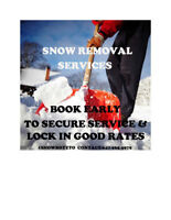 Snow Removal Services - West & Central Toronto