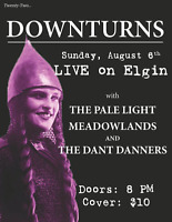 Downturns, The Pale Light & more @ Live on Elgin!