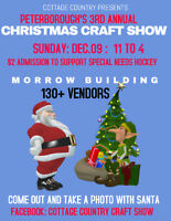 3rd Annual Peterborough Christmas Craft Show