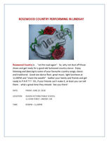 ROSEWOOD COUNTRY BACK BY POPULAR DEMAND