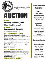 MPPPA Fall Auction