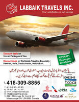 best travel deal for umrah pakistan india saudia dubai uae