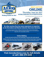 ONLINE PUBLIC AUCTION! FEATURING MARINE & RECREATIONAL PRODUCTS!