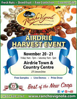 Rancho Vignola's Airdrie Harvest Event