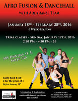Winter Dance session 2016: Trial Classes