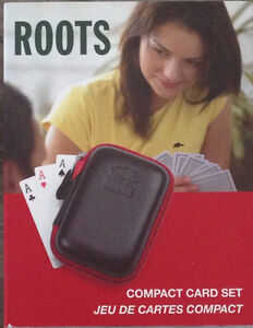 ROOTS Compact Playing Cards Set  - (2 decks inc)