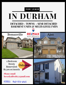Properties for Lease in Durham