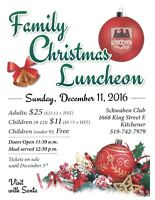 Family Christmas Luncheon