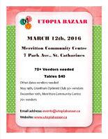 Utopia Bazaar - 70+ Vendors Needed!