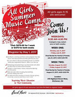 All Girls Summer Music Camp