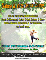 Nature & Art Summer Dance Camps