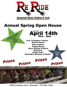 ReRide Annual Spring Open House