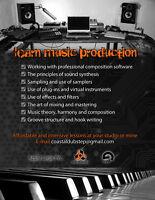 Music Production and Composition Lessons - $20/hour