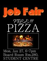 UTM - Student JOB FAIR - TODAY MARCH 27 6-7PM! Everyone Welcome