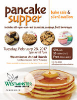 Pancake Supper & Silent Auction Fundraiser