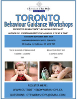 Workshops for ECE's, Teachers, EA's, Daycare providers & Parents