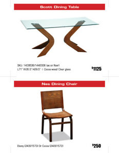 All Dining tables, Chairs and Dining Sets 30%-50% OFF!