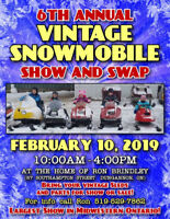 6th Annual Dungannon Vintage Snowmobile Show & Swap