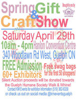EXHIBITORS WANTED - Spring Gift & Craft Show!