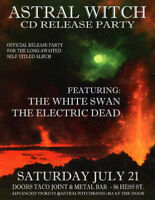 ASTRAL WITCH CD RELEASE PARTY