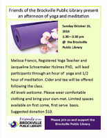 An Afternoon of Yoga and Meditation fundraiser