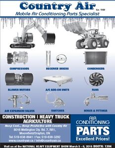 WHOLESALE HEAVY EQUIPMENT AIR CONDITIONING PARTS Kitchener / Waterloo Kitchener Area image 2
