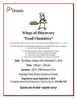 Wings of Discovery - Food Chemistry ages 3.5+