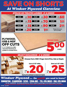 SAVE ON CLEARANCE CASING AND BASEBOARD PLUS MORE
