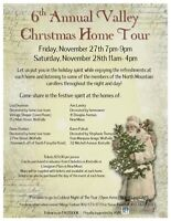 6th ANNUAL VALLEY CHRISTMAS HOME TOUR