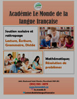 Académie Le MondeSchool support and catch-up
