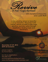Revive: A Fall Yoga Retreat!
