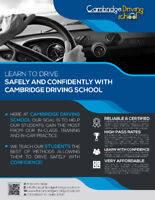 Cambridge Driving School ( Special Offer - LIMITED TIME )