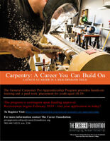 Carpentry: A career you can build on!