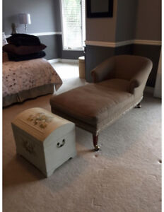 Chaise Lounge & Chest