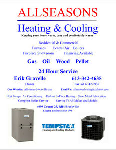 We finance and rent Furnace & Air Conditioner starting at $37.99