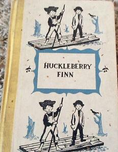HUCKLEBERRY FINN VINTAGE BOOK