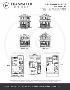 Brand new 3 bed 2 Storeys with full basements, Land in