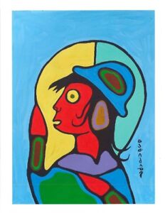 Two Original Norval Morrisseau's