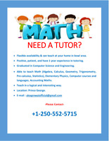 Need a tutor??  - Offering