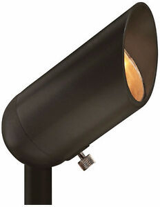 "Hinkley Hardy - 3.3"" 3W 1 LED Spot, Bronze Finish"