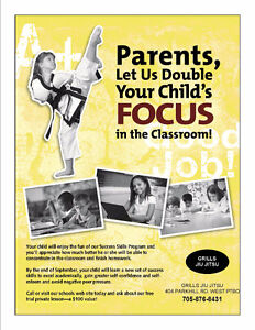 Give Your Child The Gift Of FOCUS & CONFIDENCE TODAY!