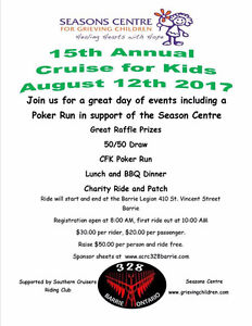CRUISE FOR KIDS  GREAT EVENT  MARK YOUR CALENDARS !!